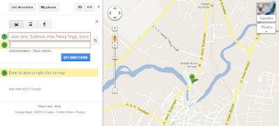 Cara Cek Titik Koordinat menggunakan Google Maps