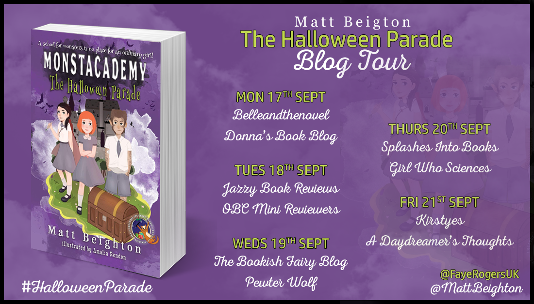 Halloween Parade Blog Tour
