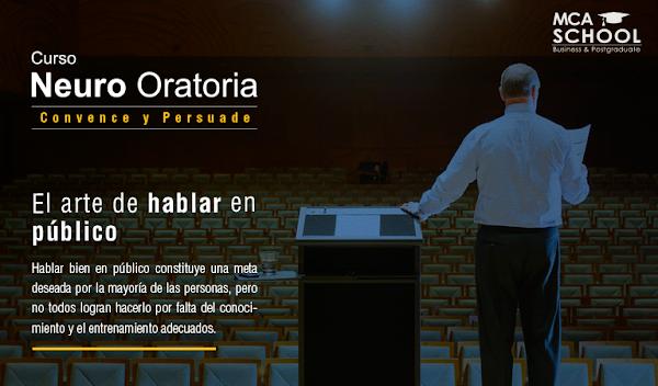 Curso gratis de Neuro Oratoria para Emprendedores