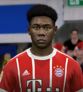 PES 2017 Faces David Alaba by FaceEditor Jefferson_SF