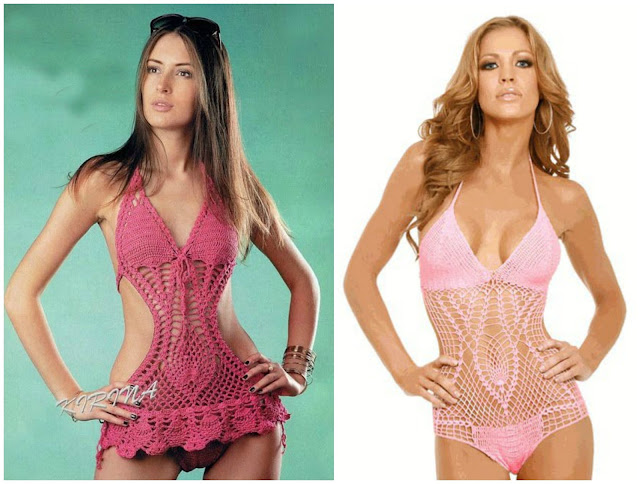 Little Treasures 10 Fabulous And Free Monokini Crochet Patterns