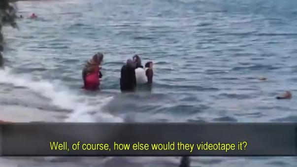 Νάτα Μας... Βιντεοσκοπούν Fake Πνιγμούς Παράνομων Εισβολέων Στην Κρήτη!!(ΔΕΙΤΕ VIDEO)