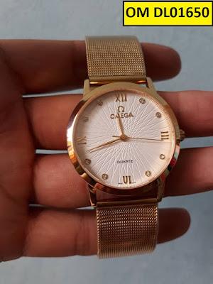 Đồng hồ dây lưới Omega DL01650