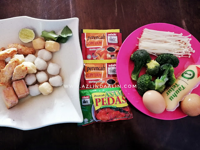 6 BAHAN RESEPI ODEN STEAMBOAT ALA FAMILY MART MUDAH DAN SENANG, Cara masak Oden Family Mart,