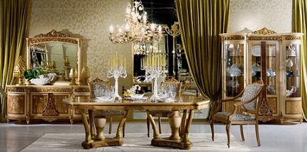 Mi casa con estilo comedores cl sicos elegantes for Comedores clasicos elegantes