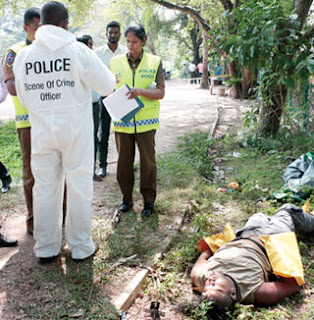 Britisher murdered and dead body thrown away in Malgawatta]