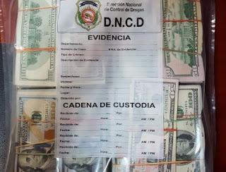 Autoridades ocupan más de 449 mil dólares en el AILA