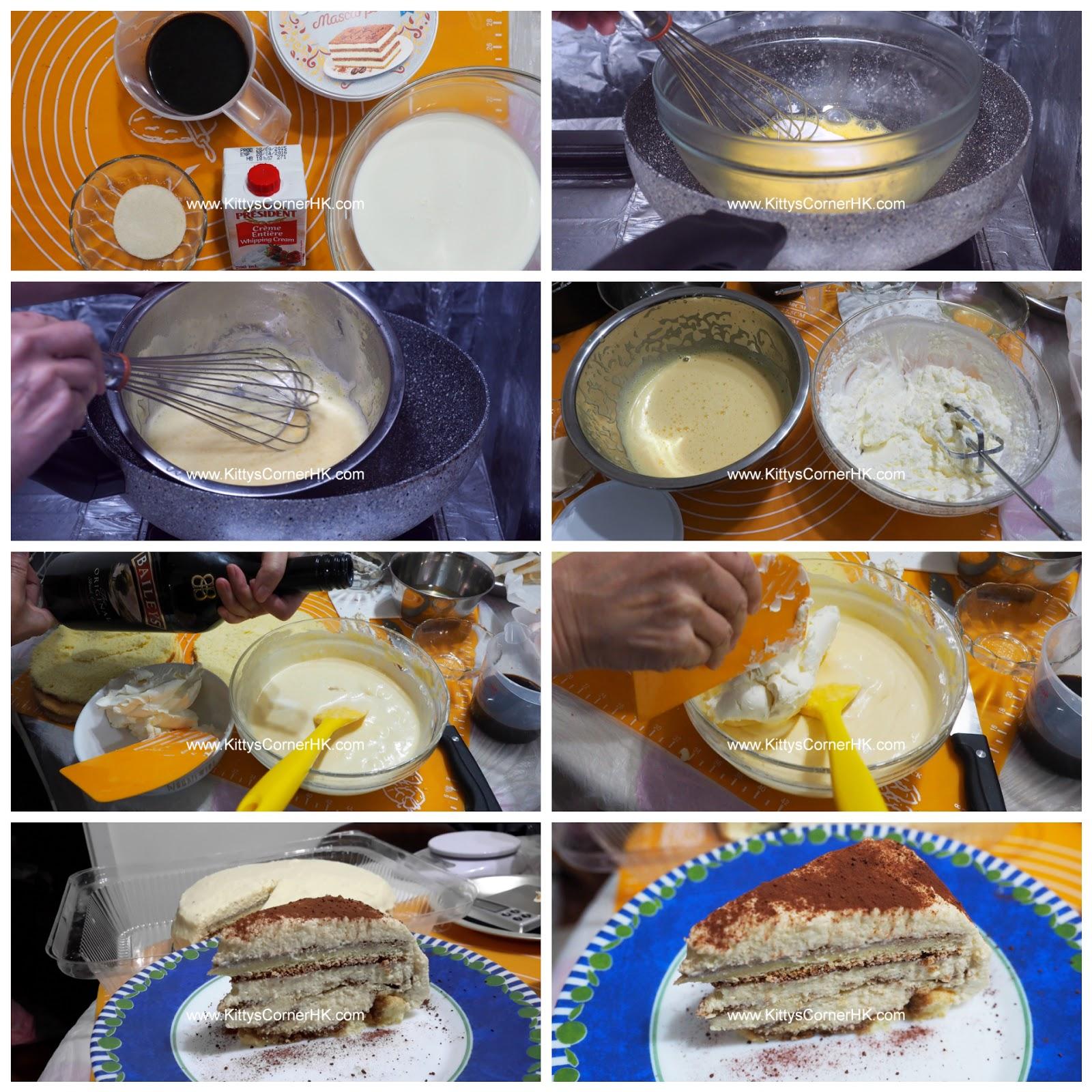Tiramisu DIY recipe 意大利Tiramisu 自家烘焙食譜