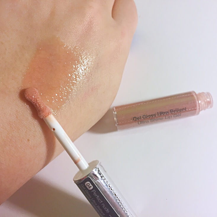 Sephora Collection Ultra Shine Lip Gel Perfect Nude