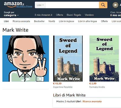 Aggiungere il proprio nome tra gli autori di Amazon