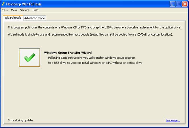 cara install windows 7 lewat flashdisk, menggunakan wintoflash