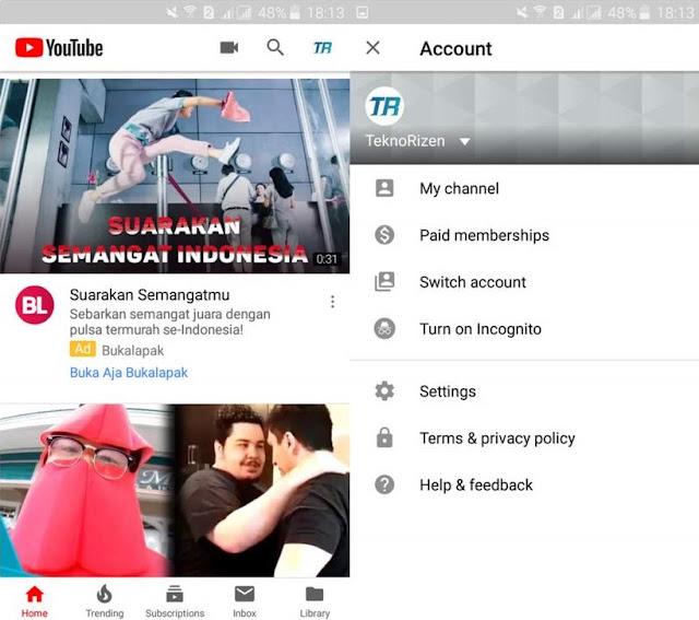 Cara Menonaktifkan Fitur Restricted Mode di YouTube Tutorial Menonaktifkan Fitur Restricted Mode di YouTube