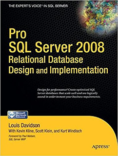 SQL Server Database design and Modelling books