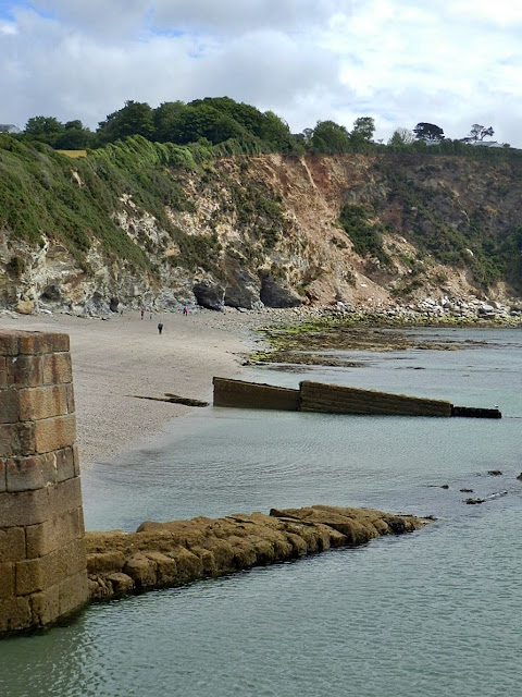 Beach, Charlestown, Cornwall