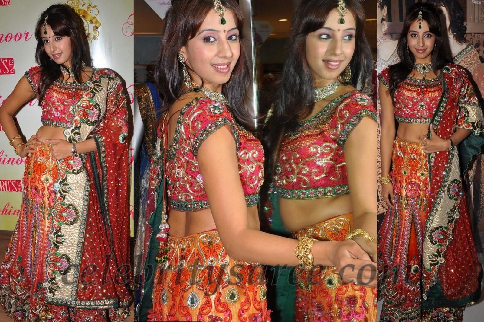 Sanjana Singh in Neerus Bridal Lehenga - Saree Blouse Patterns