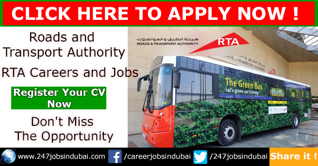 Career Opportunities in Dubai at RTA