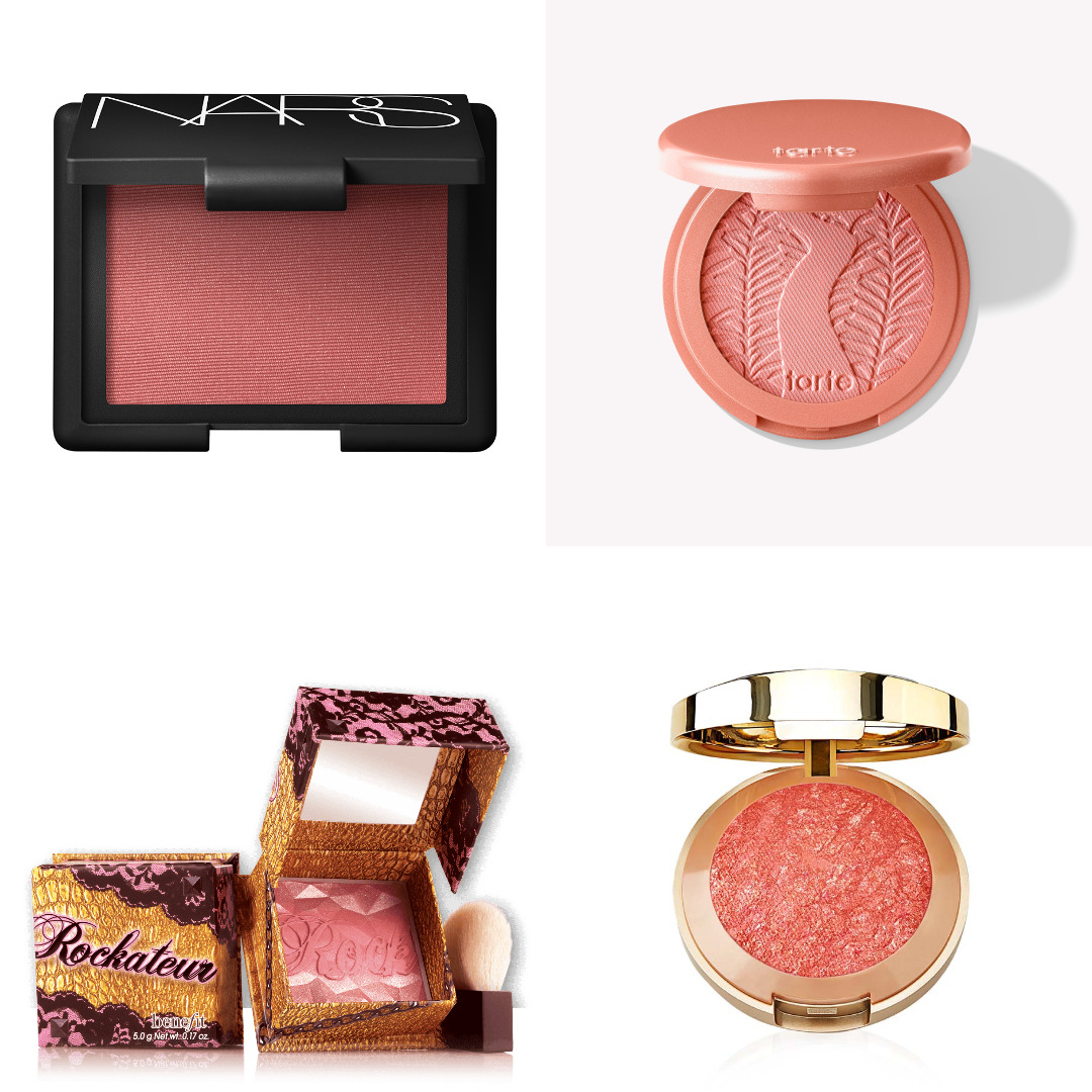 top blushers collage