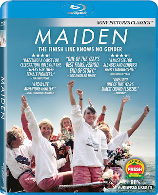 Maiden 2018 Documentary Bluray