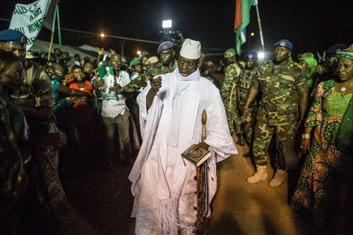 After Spending 22 Years in Office, Gambian President Seeks Re-election