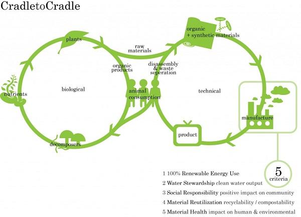 Autossustentável: Cradle to Cradle