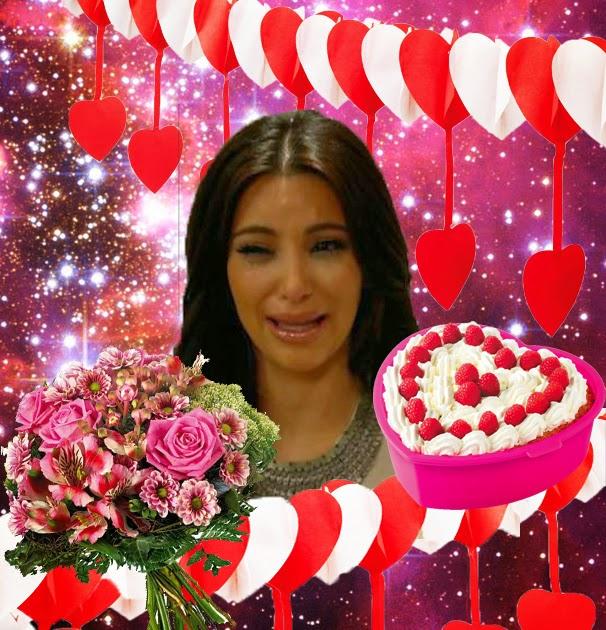 Kim Kardashian crying face forever alone Valentine Valentinstag ohne Date Liebe fürs Leben Tinder mach Schluss