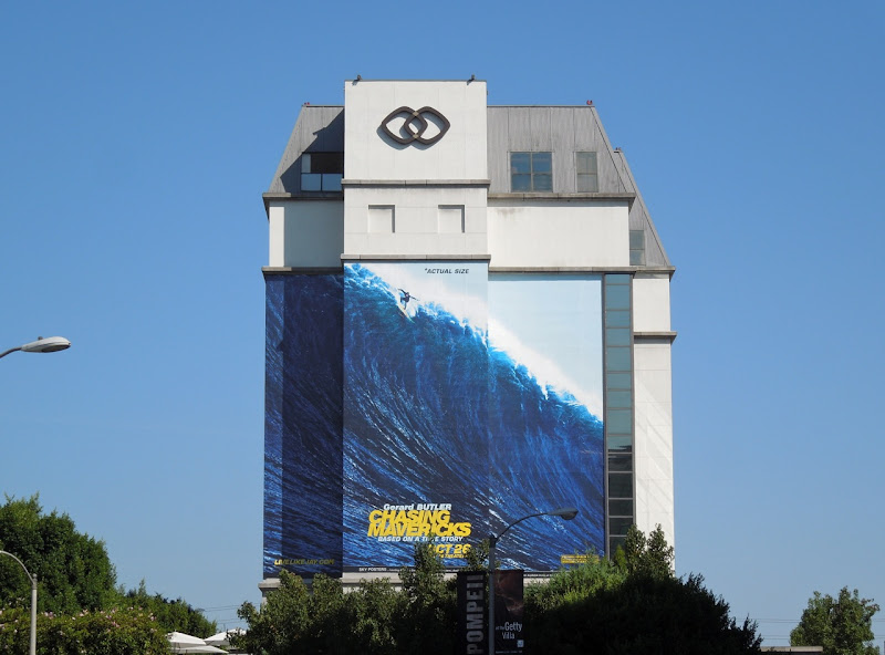 Chasing Mavericks billboard Sofitel Hotel