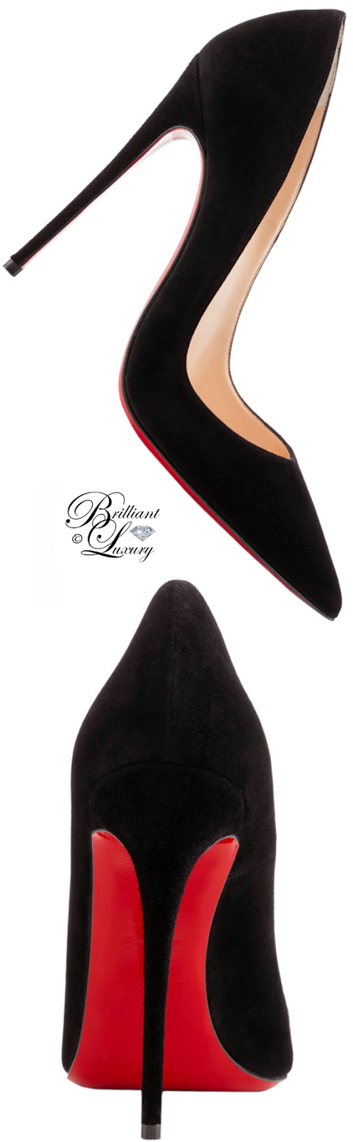 Brilliant Luxury ♦ Christian Louboutin So Kate Classic Patent Leather Red Sole Pump