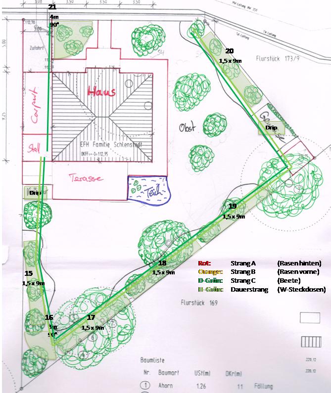 Hum S Baublog Planung Gartenbewasserung Teil 1