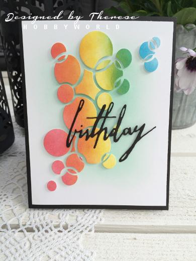Birthday - en die från Sizzix och Tim Holtz