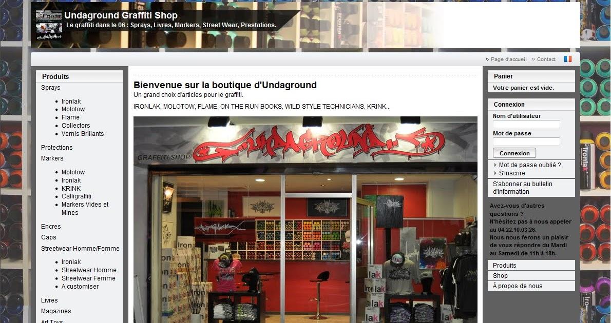 spewoner site de vente en ligne undaground graffiti shop. Black Bedroom Furniture Sets. Home Design Ideas