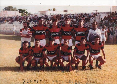 O jogo que não houve envolvendo os times do Flamengo de Arcoverde e  Flamengo RJ no ano de 1987 75ae95eb2a346