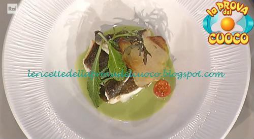 Rombo con asparagi selvatici ricetta Pascucci da Prova del Cuoco