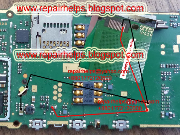 Nokia x1-01 lcd light problem solution