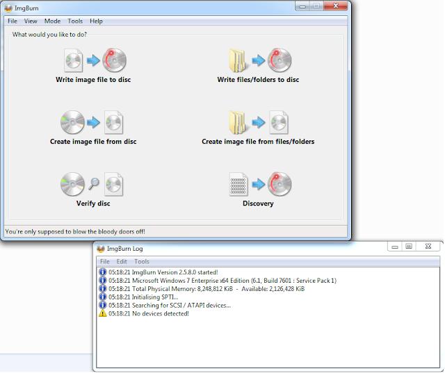 make bootable windows 7 disk using imgburn