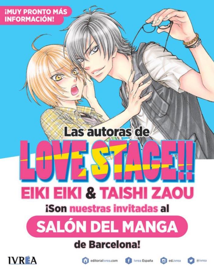 Eiki Eiki y Taishi Zaou (Love Stage!!) XXIV Salon Manga Barcelona - Ivrea