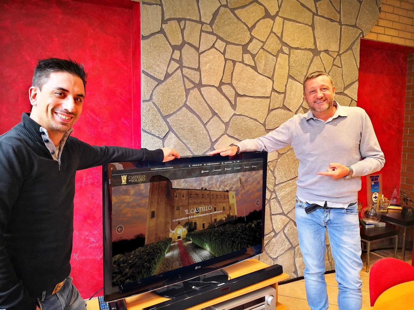 Ottimo lavoro! Alberto Gagna Onebit e Danilo Ronco Castello dei Solaro