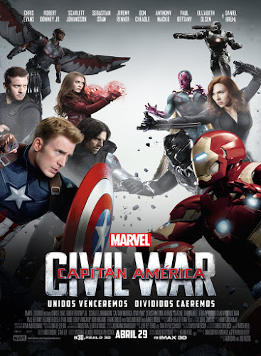 Captain America: Civil War (BRRip IMAX 3D 1080p Dual Latino / Ingles) (2016)