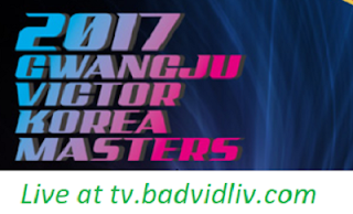 Korea Masters 2017 live streaming and videos