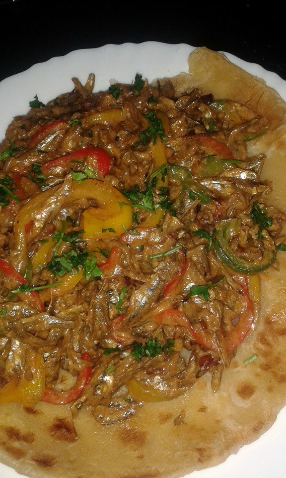 Crazy Meal: Omena With Chapati