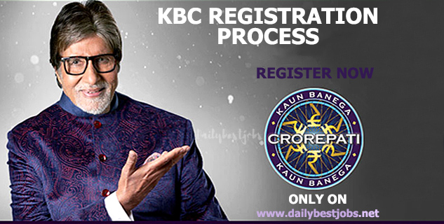 KBC 2018 Registration Process To Participate KBC Season 10