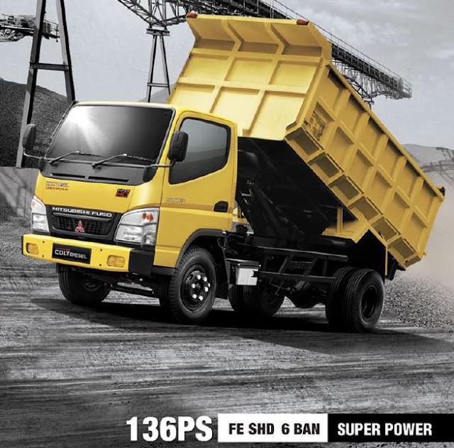 promo kredit dp super ringan dump truck colt diesel 2019