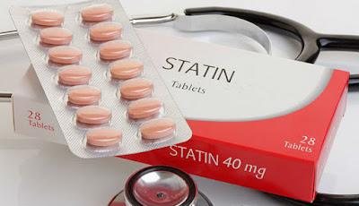 Statin digunakan sebagai obat kolesterol.