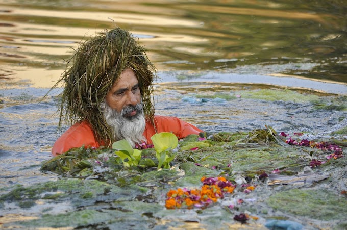 Meet Eco Baba, the Man Who Cleaned a 160 Km Long River with his volunteers
