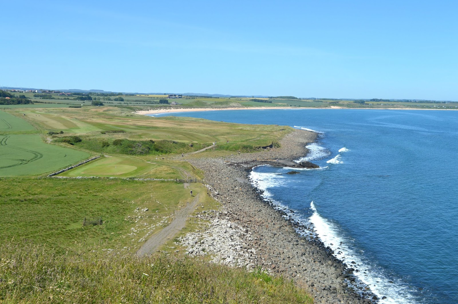 Road Tripping the Northumberland Coastal Route