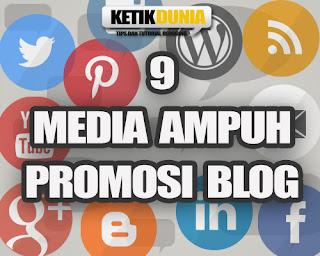 cara mempromosikan situs blog