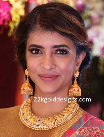 Lakshmi Manchu in Vasundhara Necklace