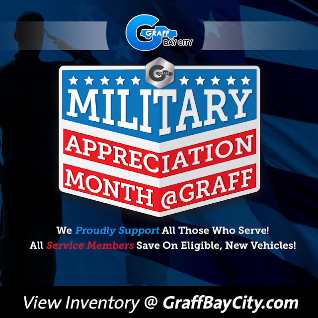 Military Appreciation Month at Graff Bay City