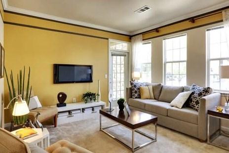 Ide desain ruang tamu terbaik - Ruang tamu rumah minimalis sederhana