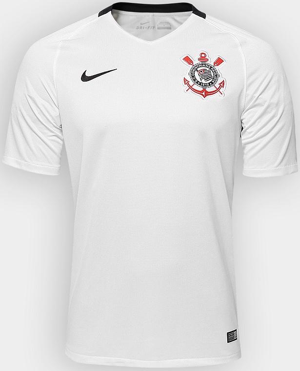 779b4a7145 Nike apresenta nova camisa titular do Corinthians - Show de Camisas