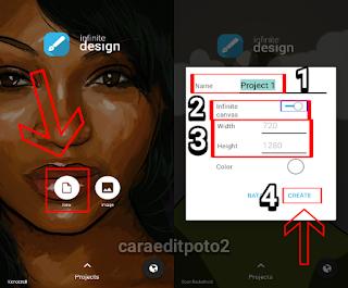 Cara Menggunakan Aplikasi Infinite Design